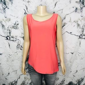 💜3/$25💜 Mr. Max Asymmetrical Sleeveless Top Pink